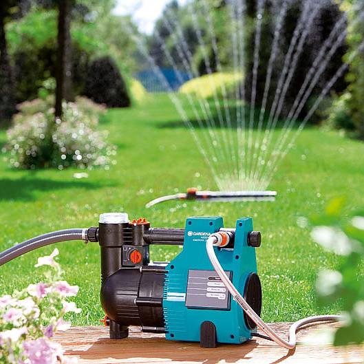 Hydrofor 4000/4 Electronic Plus Classic Gardena 1481-20. Fotografia: www.narzedzia.pl.