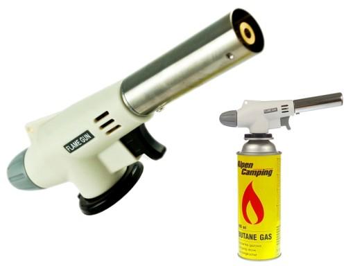 ręczna opalarka gazowa z palnikiem