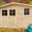 Sposób na utrzymywanie porządku w ogrodzie: domki narzędziowe