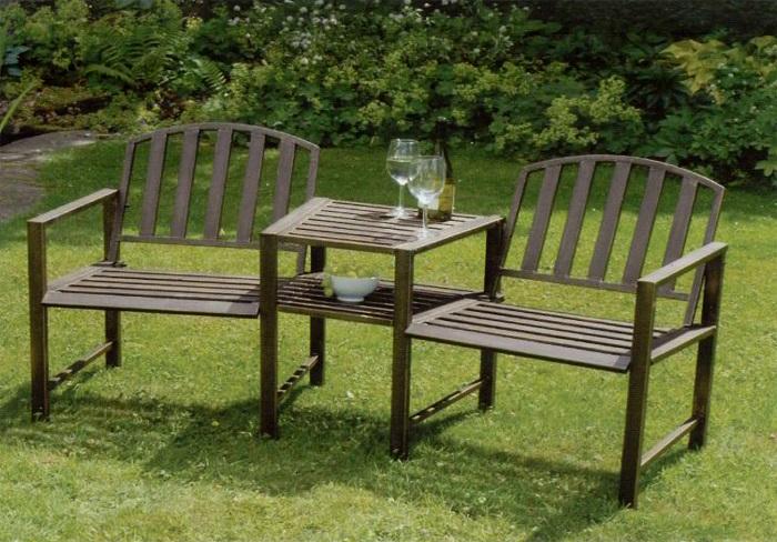 metalowe fotele ogrodowe