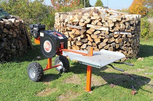 Profesjonalna łuparka do drewna