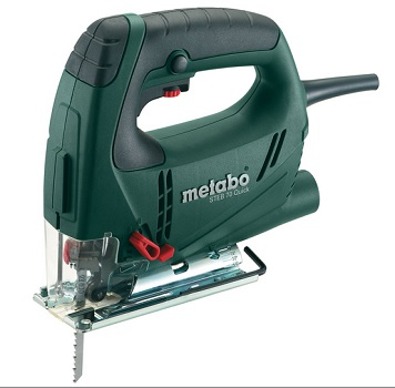 Wyrzynarka elektryczna marki Metabo, model STEB 70 Quick.