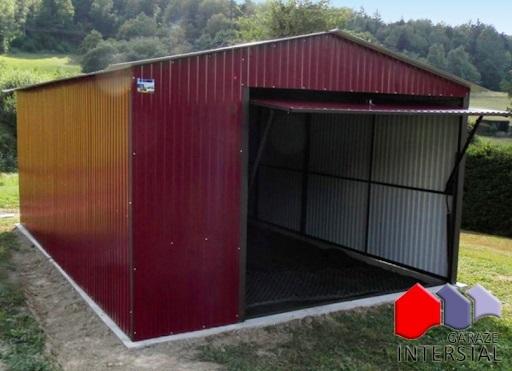 garaż blaszany Interstal
